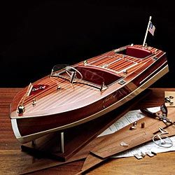 Chris Craft Runabout Model Kit | Wooden boat kits, Chris ...