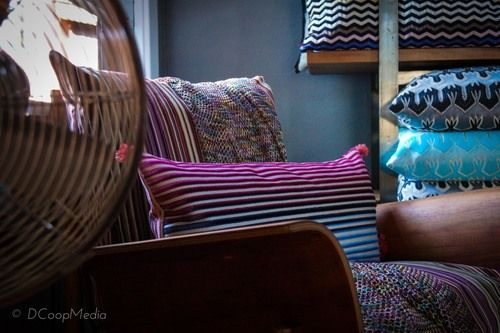 Missoni Pillows available at San Diego's Love & Aesthetics // Pillow fight with #DesignLUX
