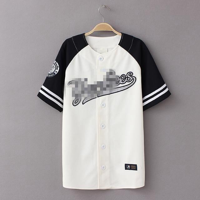 Aliexpress.com  Comprar Camisa de Verano 2016 Nuevo Hiphop de béisbol  Camiseta de Béisbol 448868b2025