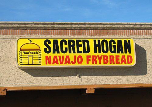 Sacred Hogan Navajo Frybread