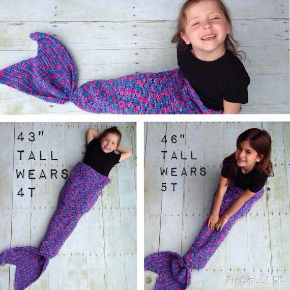 Knitted Fin Blankets | Colcha sirena, Mantas sirena y Sirenitas