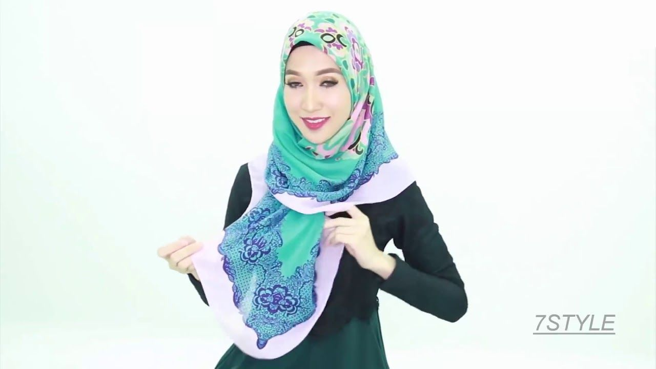 7 Hijab Styles Tutorial 2019 By Zoya Modern Hijab Tutorials Latest