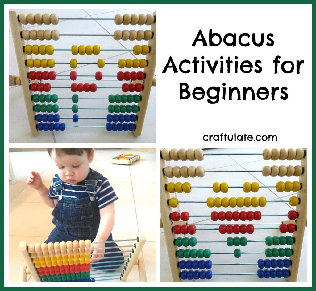 Abacus Activities For Beginners