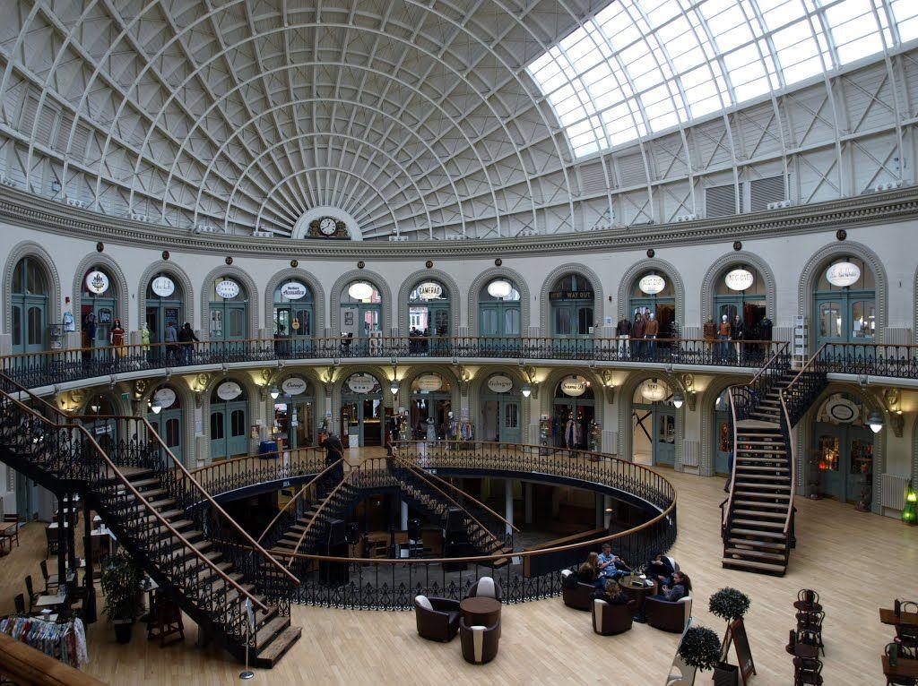 Photo Of The Former Leeds Corn Exchange Designed By Architect Cuthbert Brodrick 1821 1905 Leeds Corn Exchange Architect Leeds