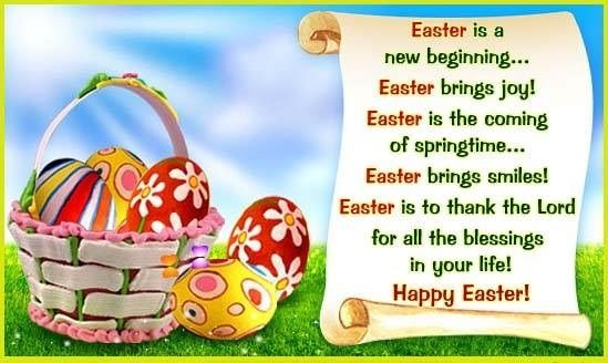 50 Inspirational Easter Quotes To Share Happiness Easter Poems Easter Wishes Messages Easter Wishes