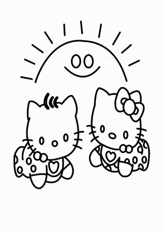Baby Hello Kitty Coloring Pages Rhpinterest: Hello Kitty Coloring Pages Shower At Baymontmadison.com