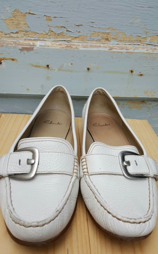 clarks white shoes ladies