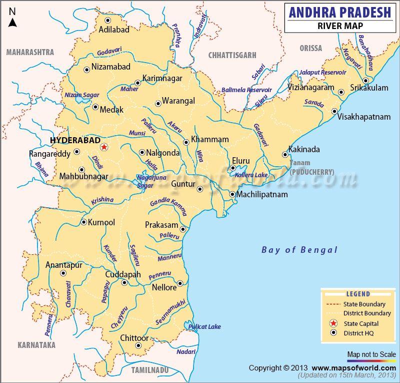 andhra pradesh and telangana map with rivers Andhra Pradesh River Map Map Andhra Pradesh Geography Map andhra pradesh and telangana map with rivers