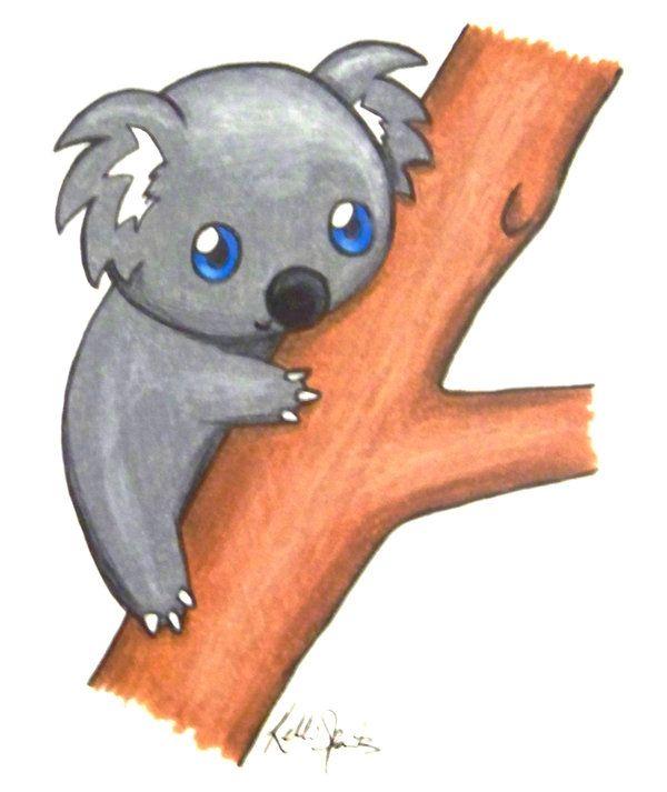 Cute Koalas Cute Koala Bear Drawings How To Draw Koala Bears Koala