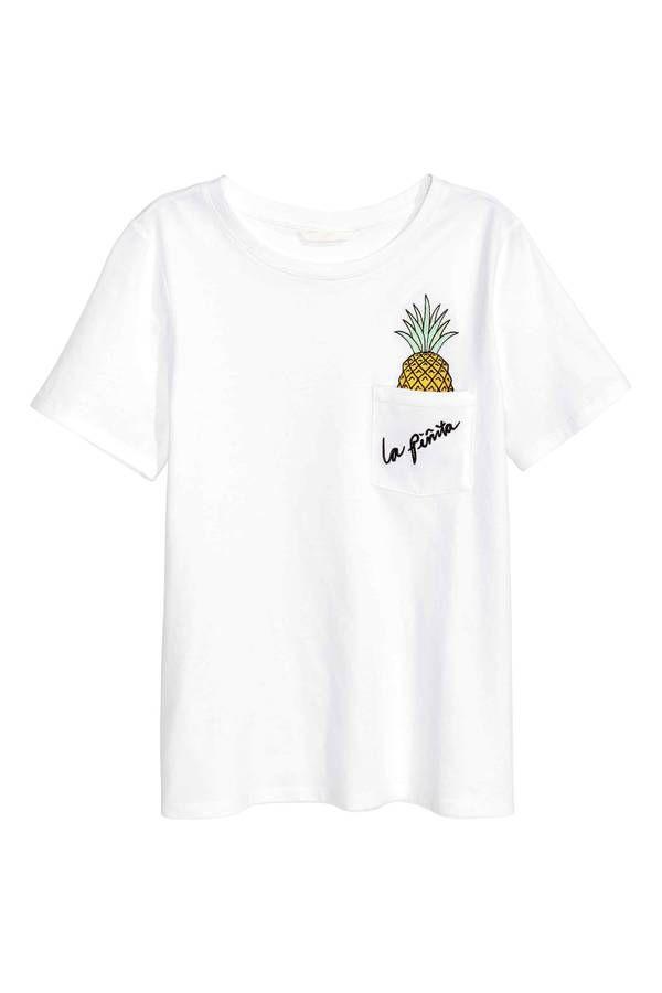 Tee-shirt été : 30 tee-shirts été pour être cool mais stylée - Elle