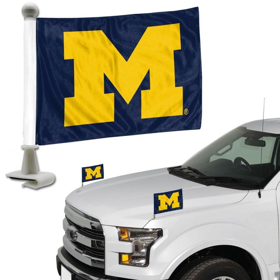 Fanmats Michigan Wolverines Ncaa Ambassador Flags 2 Pack Flag Pair Lowes Com West Virginia Mountaineer Michigan Wolverines Tennessee Volunteers [ 900 x 900 Pixel ]