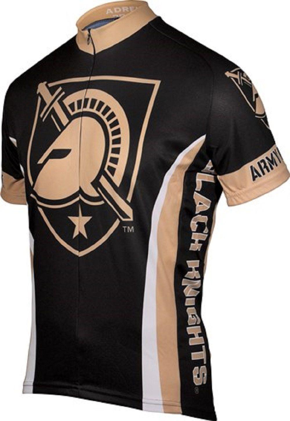 2109f7d93 NCAA Men s Adrenaline Promotions Army Black Knights Cycling Jersey ...