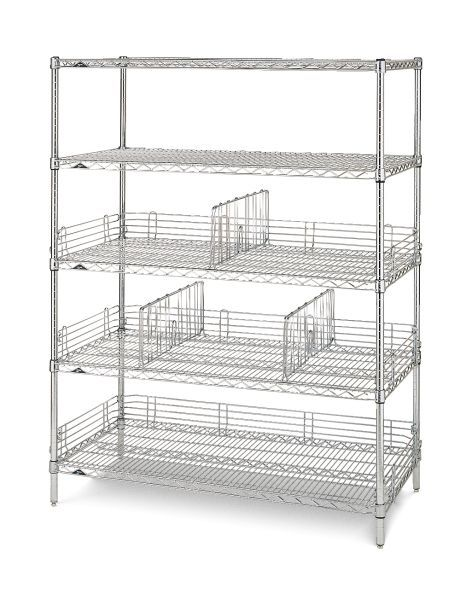 It S All About Stainless Steel Shelving And More Metro Offers A Wide Variety Of Wire And Solid Shelvin Stainless Steel Shelving Metro Shelving Stainless Steel