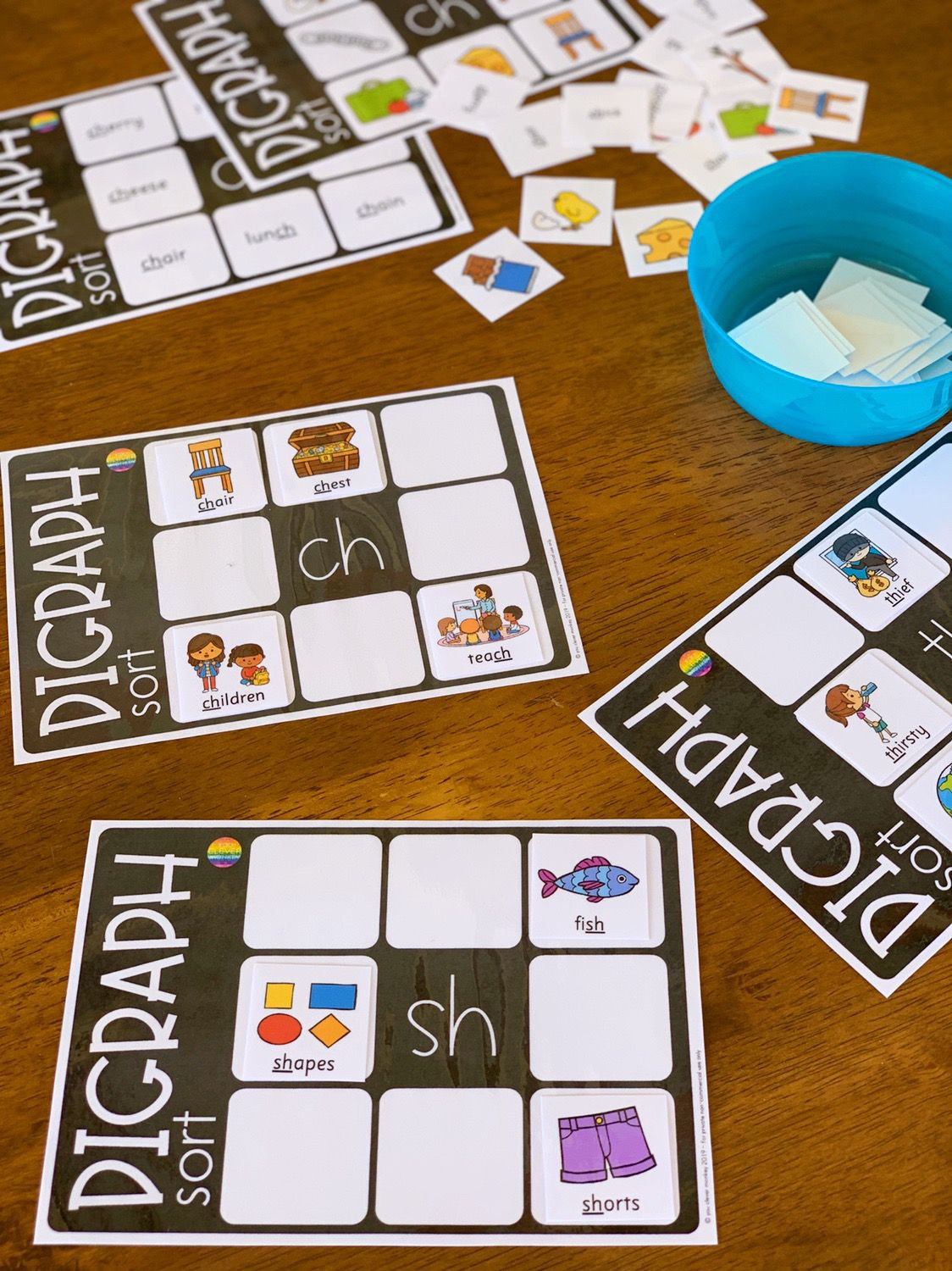 Digraph Activities Pack