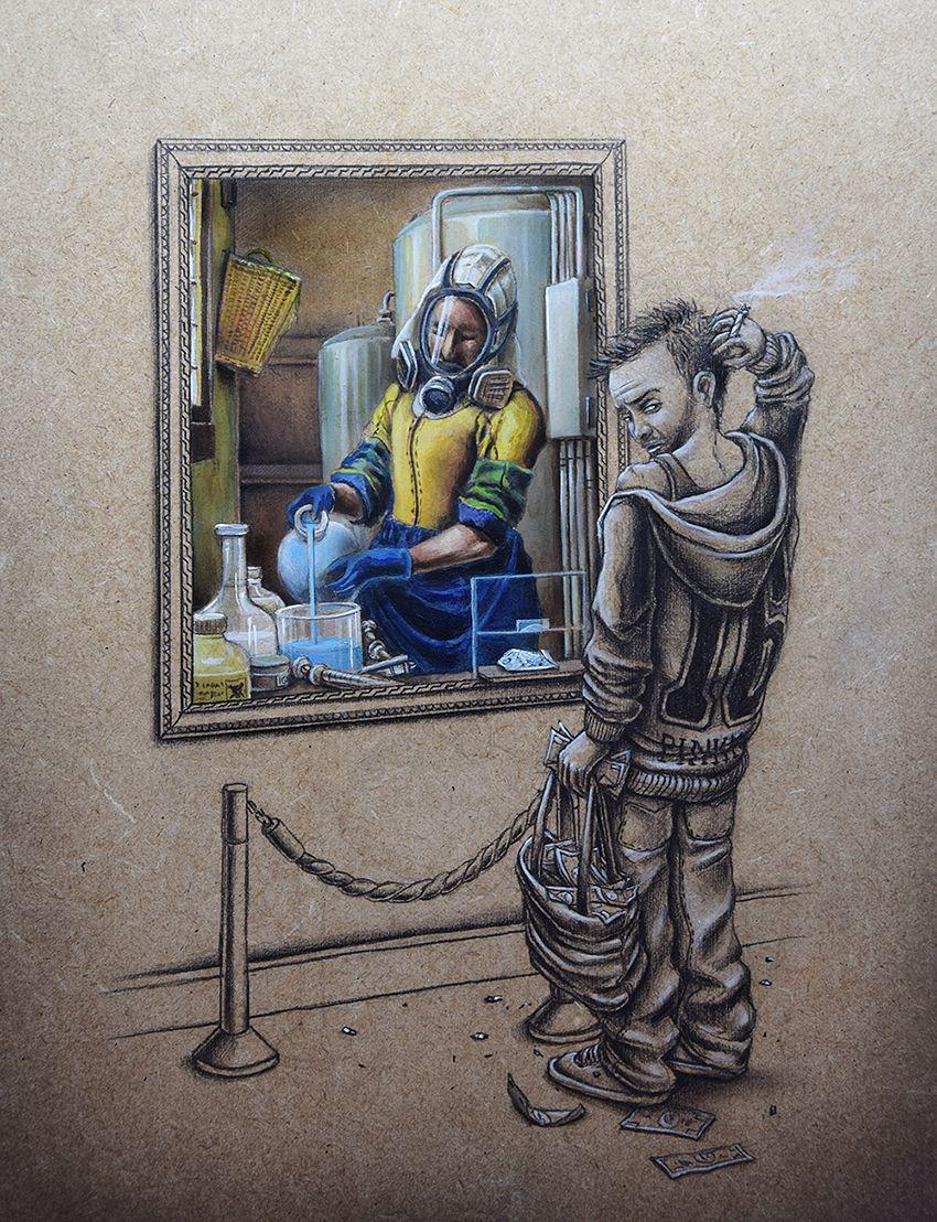 Смешная картинка про искусство