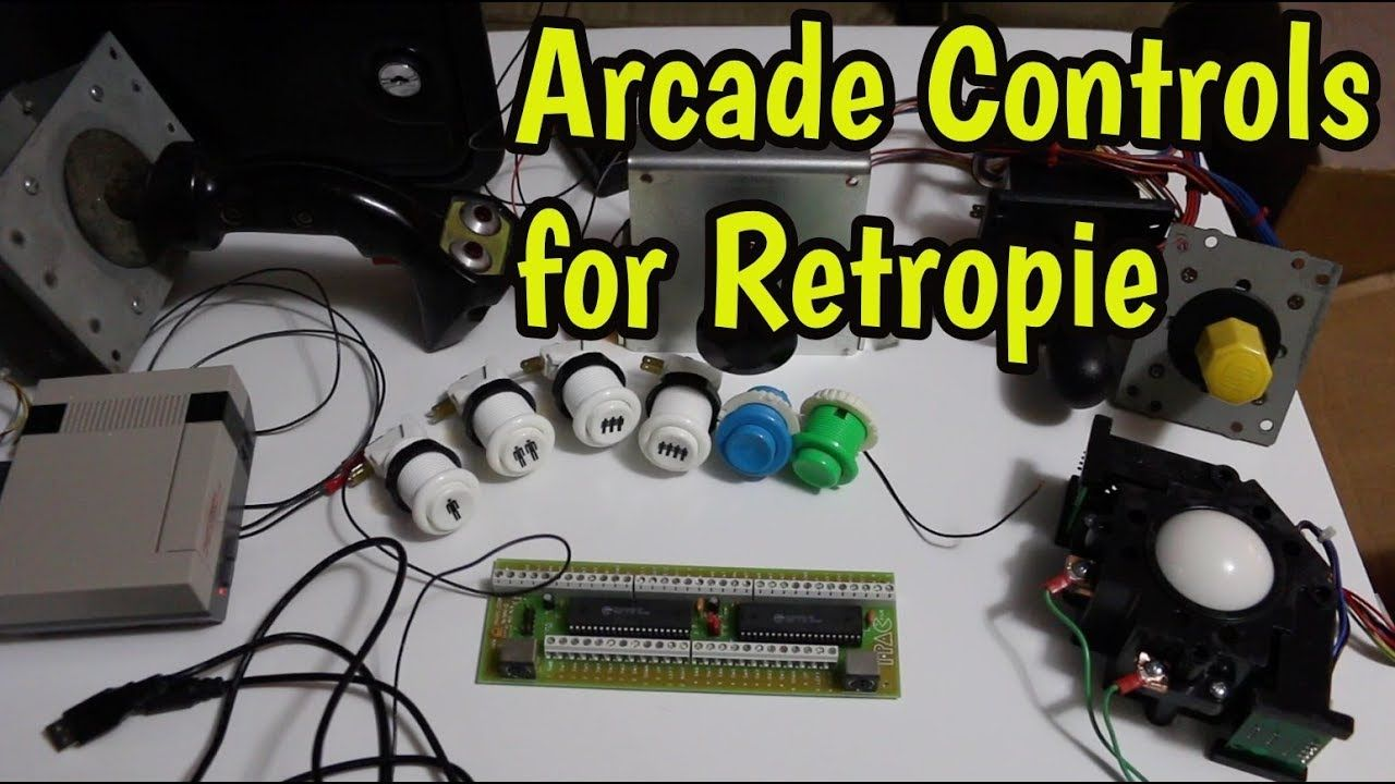 Hooking up real arcade joysticks, buttons etc to Raspberry