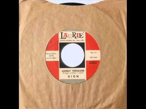 Lonely Teenager Dion 1960 Oldies But Goodies Music