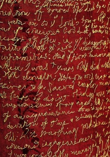 aneleh cosido, Rosalind Wyatt LA PUNTADA VIDAS DE LONDRES - \u0027un - tapices modernos