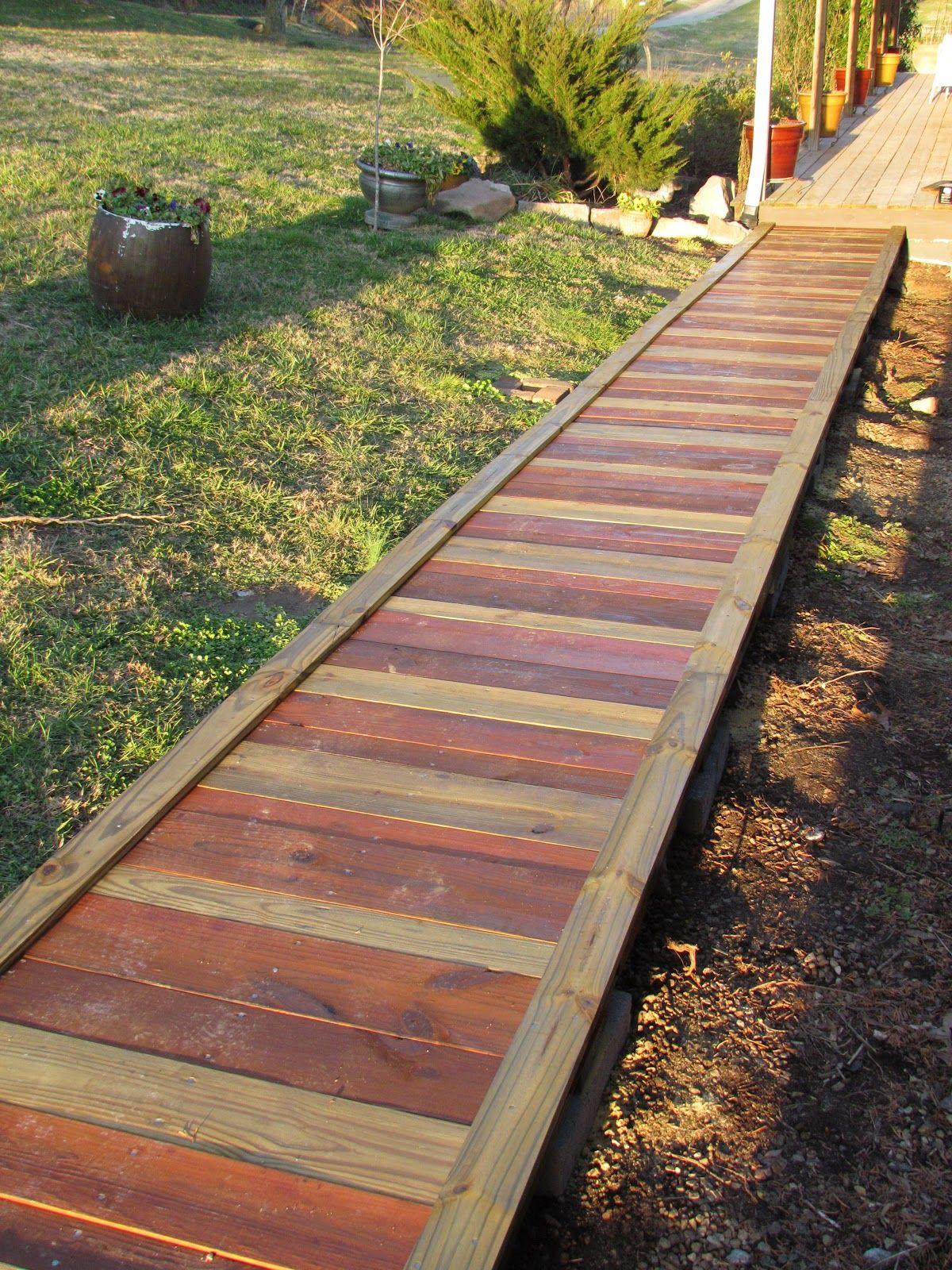 Out in the stiks a new sidewalk http outinthestiks for Low country tiny house show