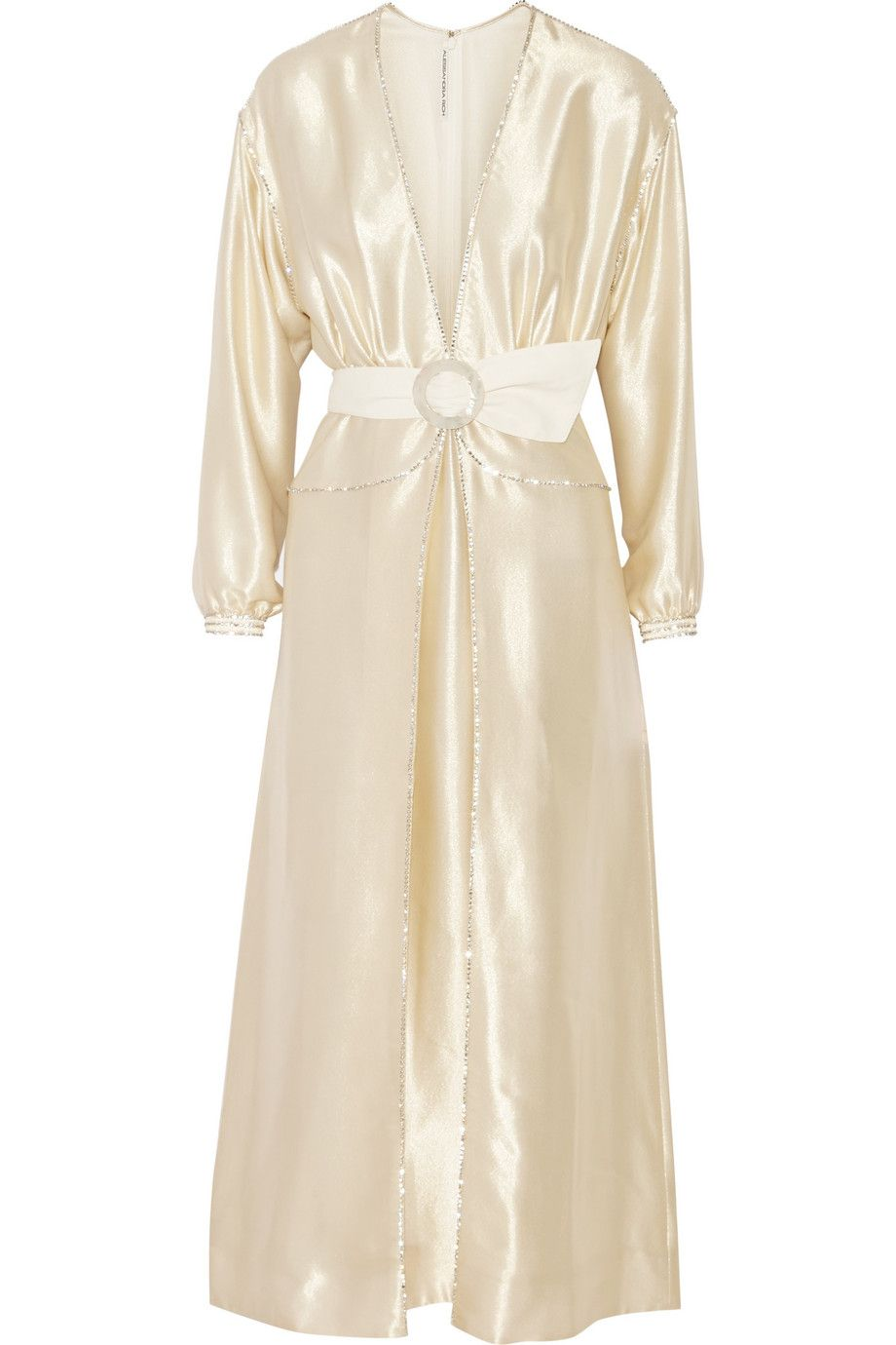 3 4 sleeve silk saree blouse designs alessandra richcrystalembellished lamé gown  i do  pinterest