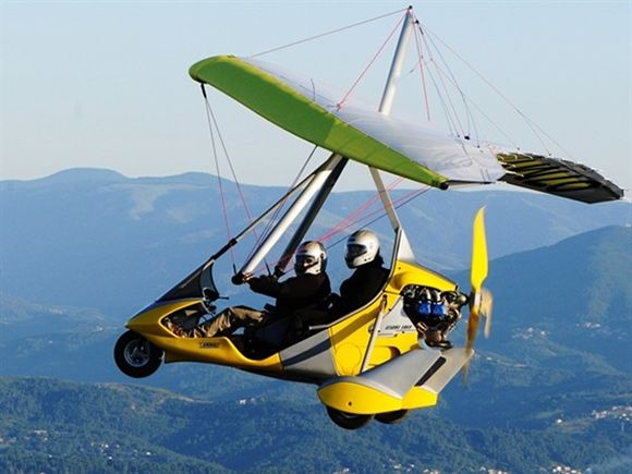 AirCreation Tanarg ultralight trike   cars I didn't expect