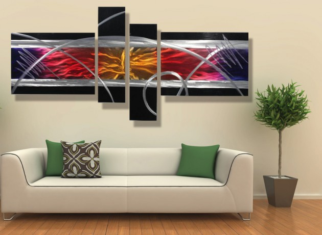 17 Tasteful Contemporary Wall Art Ideas To Give A Lively Spirit To The Living Room Contemporary Wall Art Decor Trendy Wall Decor Modern Wall Decor Art