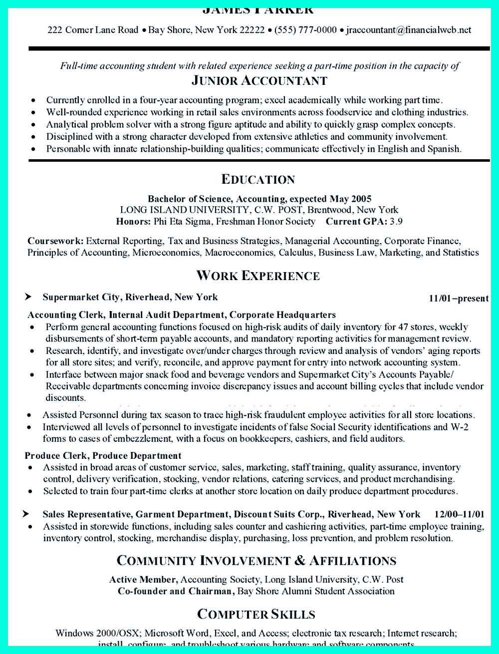 Clerical Resume Sample Think About The Order Of Writing