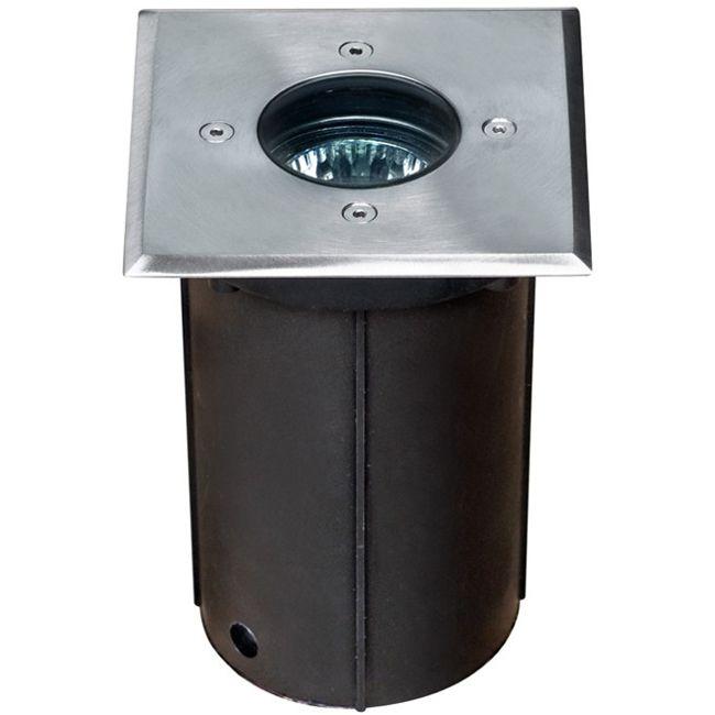 12v led in ground square face stainless steel well light led lv310