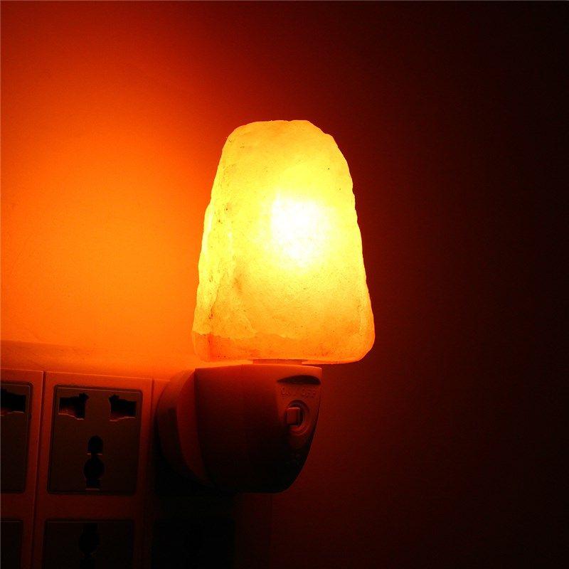 15w Himalayan Glow Night Light Lamp Mini Hand Carved Natural