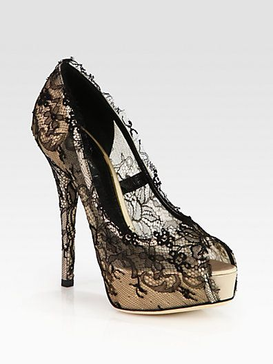 free shipping affordable Dolce & Gabbana Lace Platform Pumps comfortable cheap sale shop buy cheap how much sale big discount 44l8hx