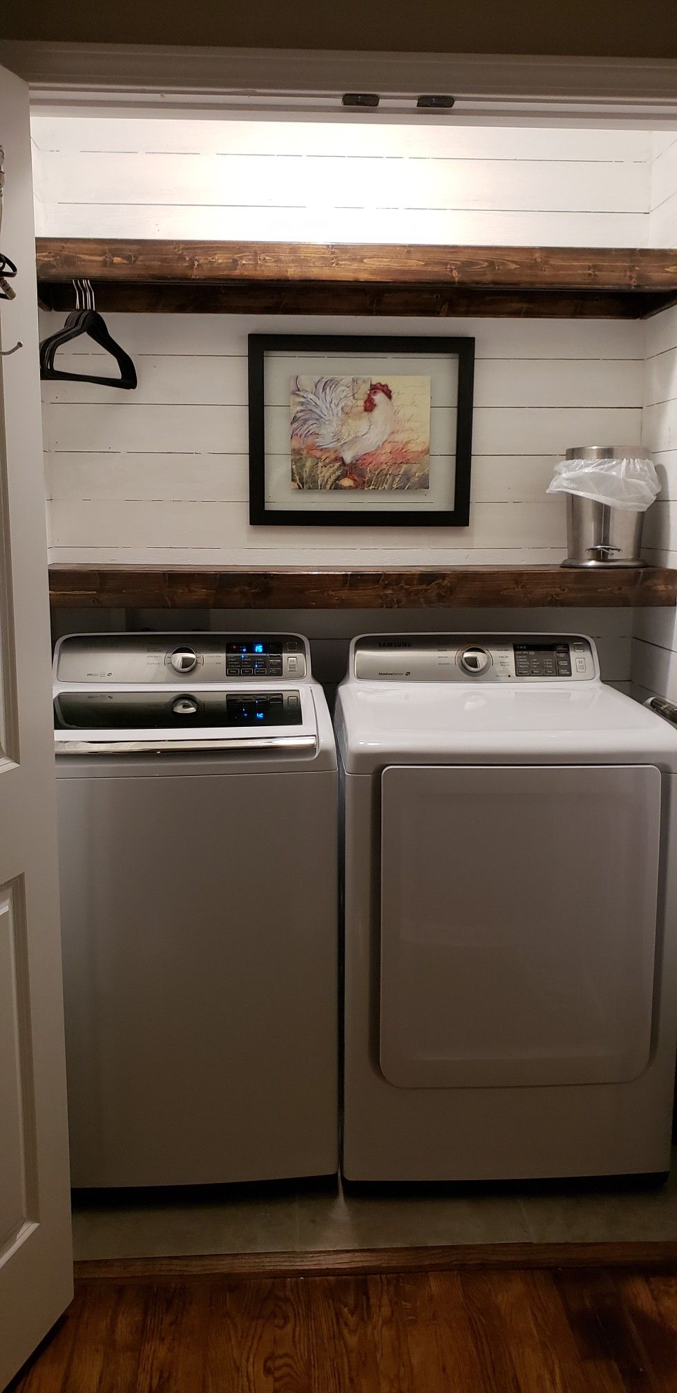 shiplap #handymanhusband #laundryroomremodel  Small room design