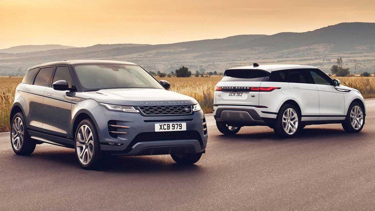 2020 Range Rover Evoque Xl Wallpaper