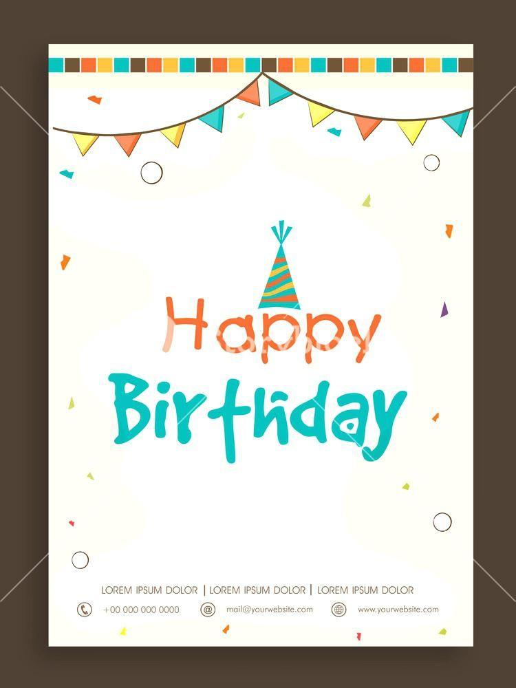 Happy Birthday Invitation Cards Happy Birthday Invitation