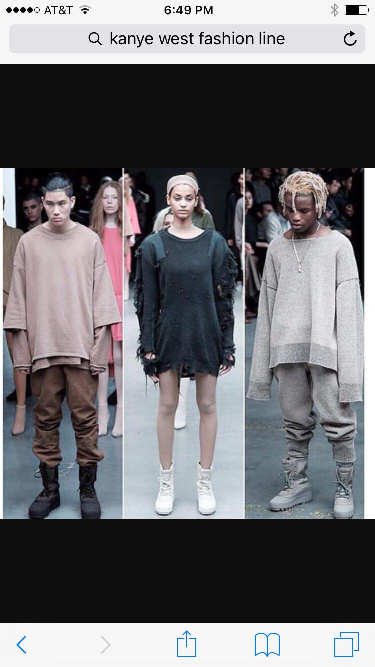 Gender Fluid Fashion Kanye West Outfits Kanye West Clothing Line Fashion