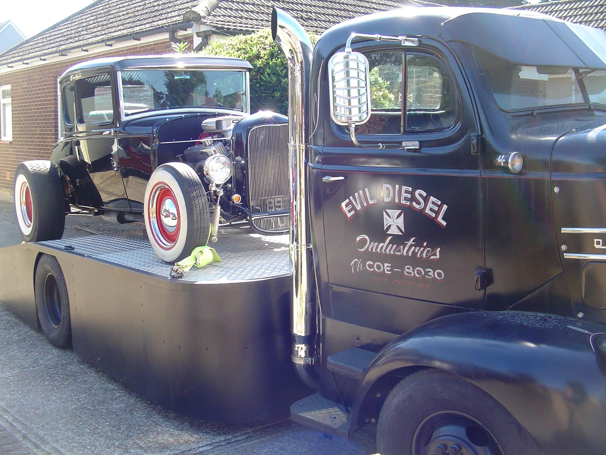 Custom coe car hauler with dovetailed bed pic 1 big