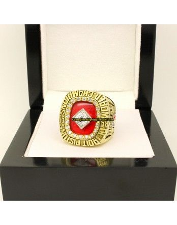 1990 Detroit Pistons NBA National Basketball World Championship Ring