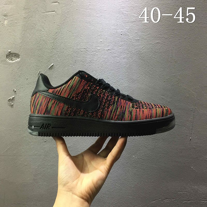 641b91d262a0 2018 Spring Fashion Nike air force 1 AF1 Flyknit low Puce 820256 003 ...