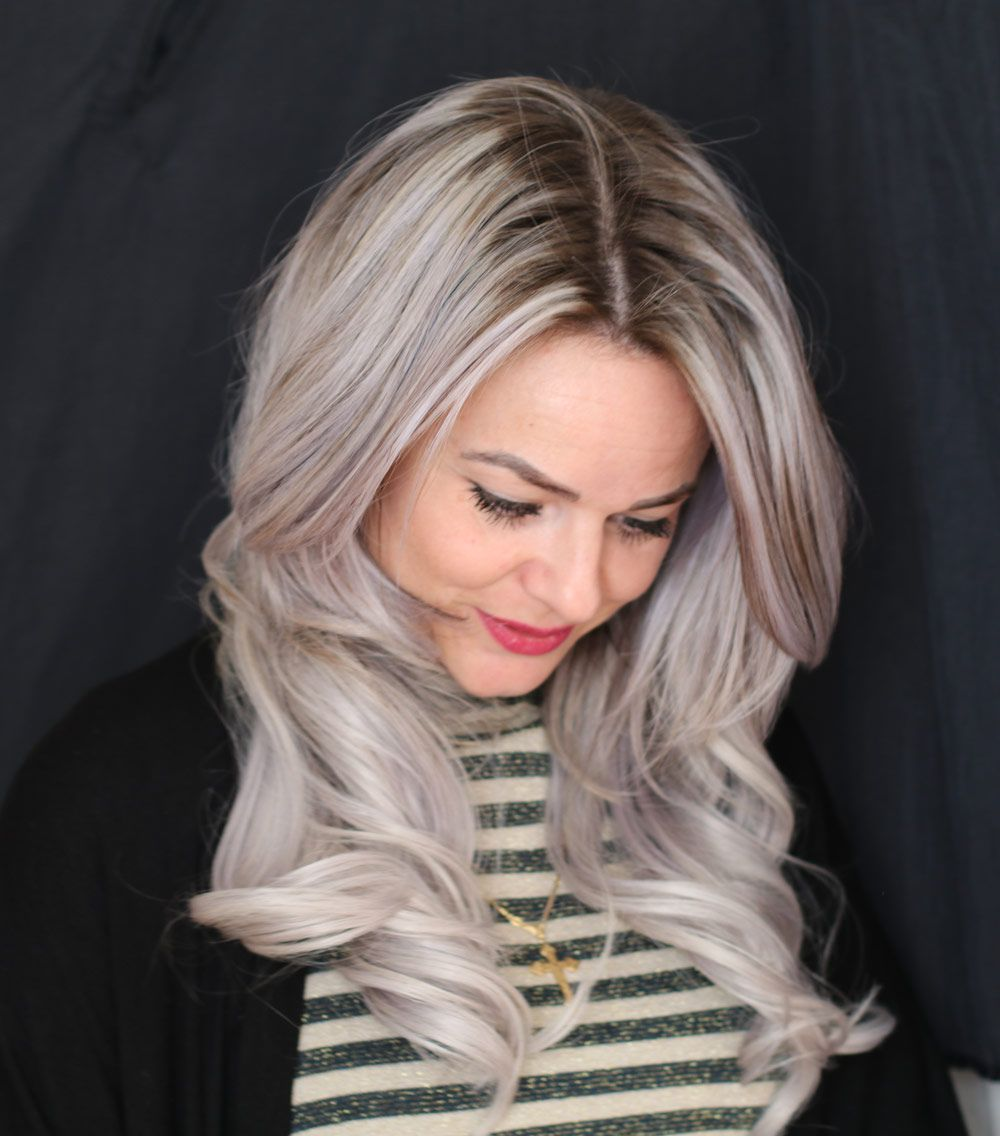 Different Shades of Gray mit Wella Color-Expertin Laura