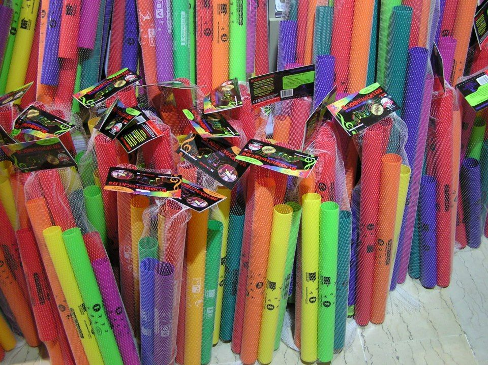 Fagottobooks full with Boomwhackers