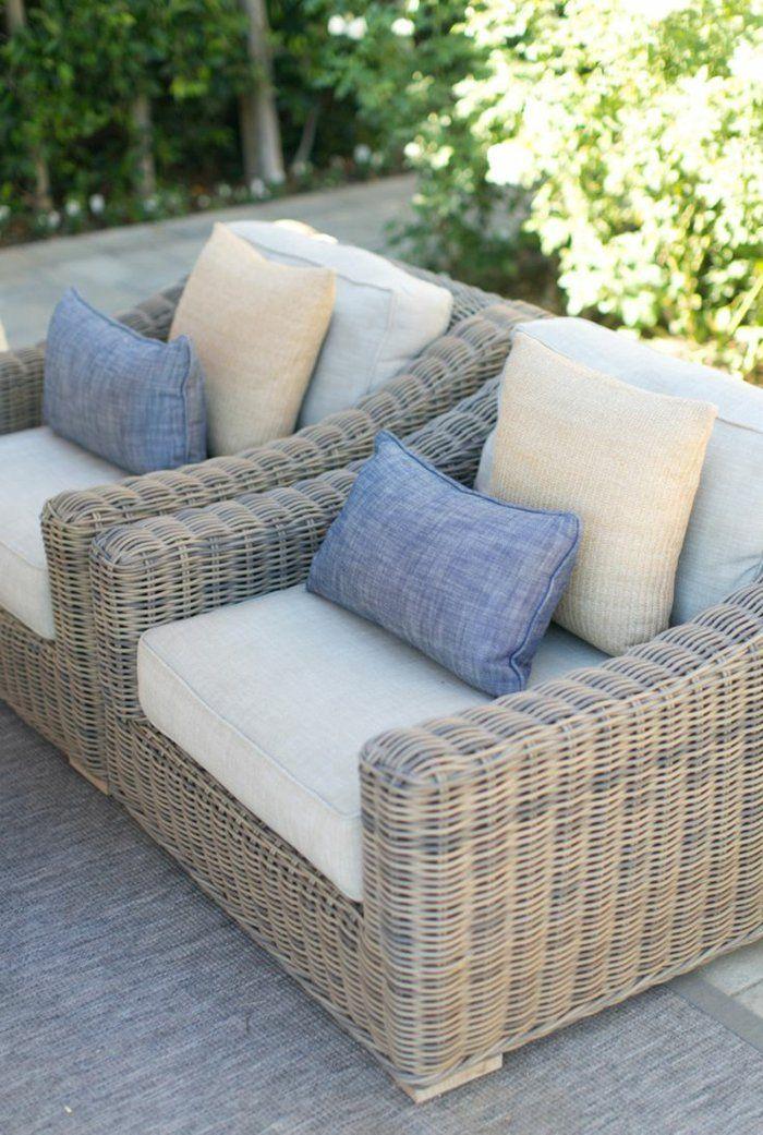 Les meubles en rotin sont le thème du jour! | Déco | Meubles ...