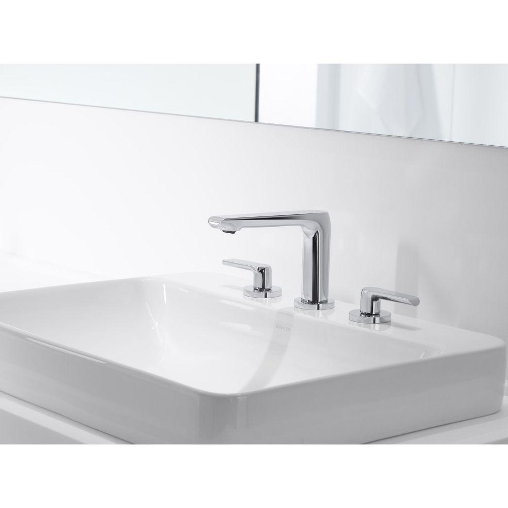 Kohler K 2660 8 0 Vox White Above Counter Single Bowl Bathroom Sinks |  EFaucets.com