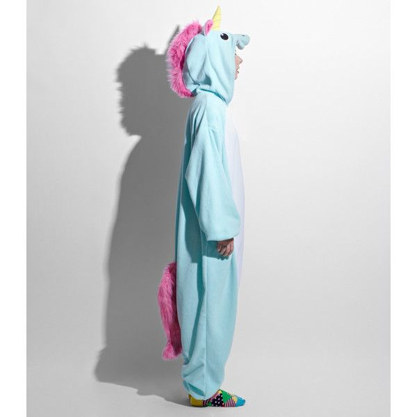 Japanese Unicorn Kigurumi Costume ($64) ❤ liked on Polyvore featuring costumes, pajamas, onesies, dress/playsuit, tops, unicorn costume, unicorn halloween costume, kigurumi unicorn costume and kigurumi costume