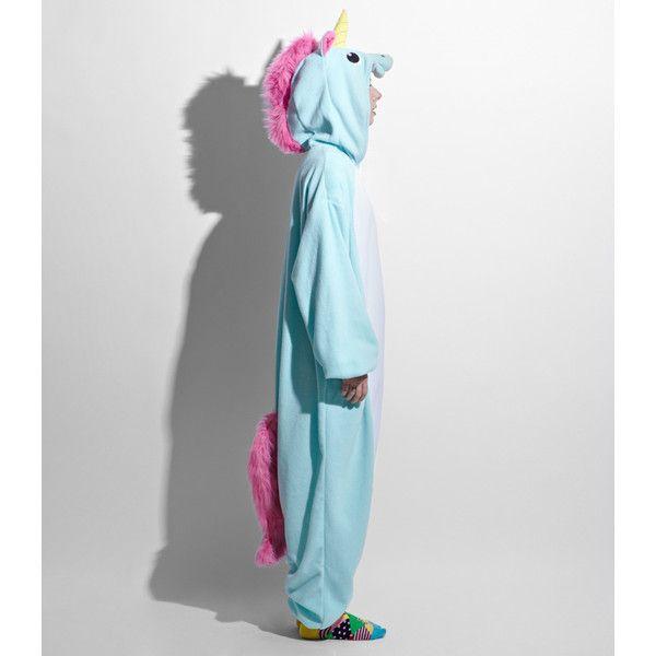 Japanese Unicorn Kigurumi Costume ($64) ❤ liked on Polyvore featuring costumes, pajamas, onesies, dress/playsuit, tops, unicorn costume, unicorn halloween costume, kigurumi unicorn costume and kigurumi costume
