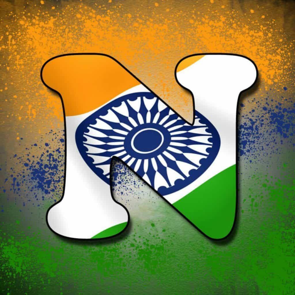 Alphabet Tiranga Image Letter Name Tiranga Images For Whatsapp Dp Indian Flag Colors Indian Flag Photos Indian Flag Images