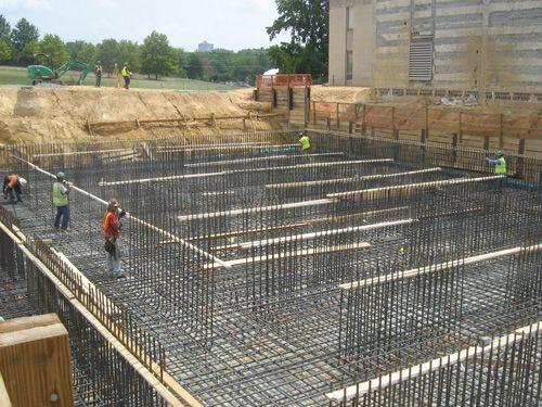 Mat foundation concrete slabs pinterest mat for Types of slabs for house