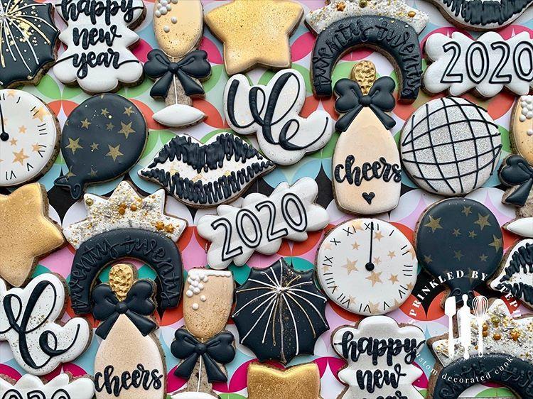 New Year's Eve cookies! ° ° ° chicagocookies