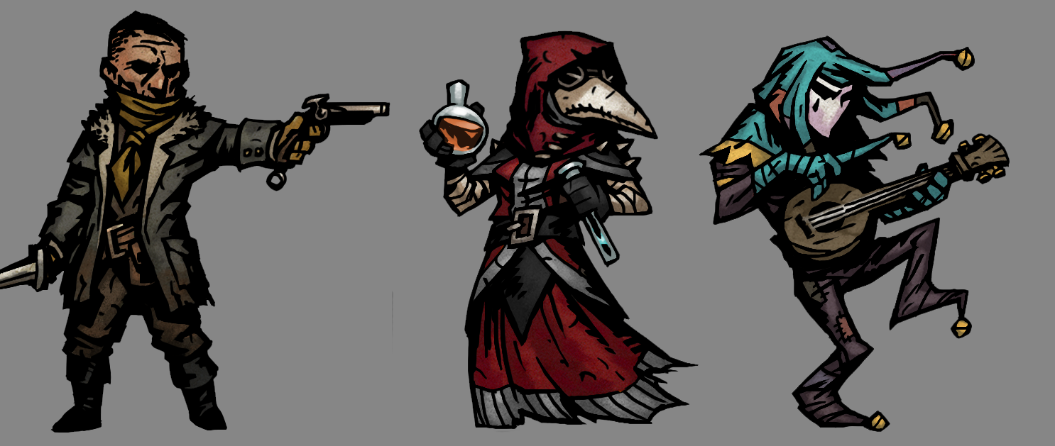 7f6f793e6a99c378afc1d06c33847b25 Png 1486 629 Darkest Dungeon Dark Fantasy Rpg Character
