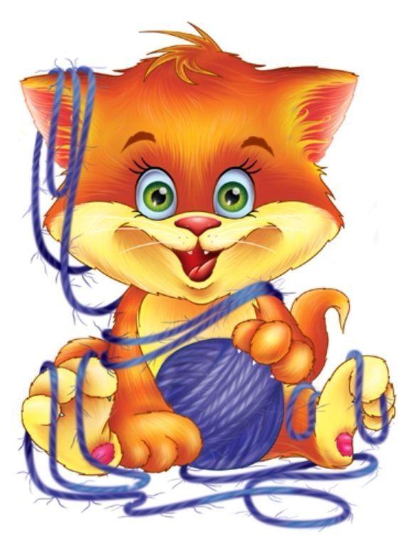 Детские картинки про котов