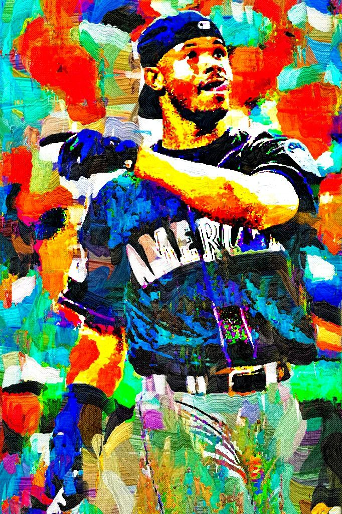 2a47befacc Ken Griffey Jr. Fauvism Painting - Virtual Painter 6. | SPORTS ...