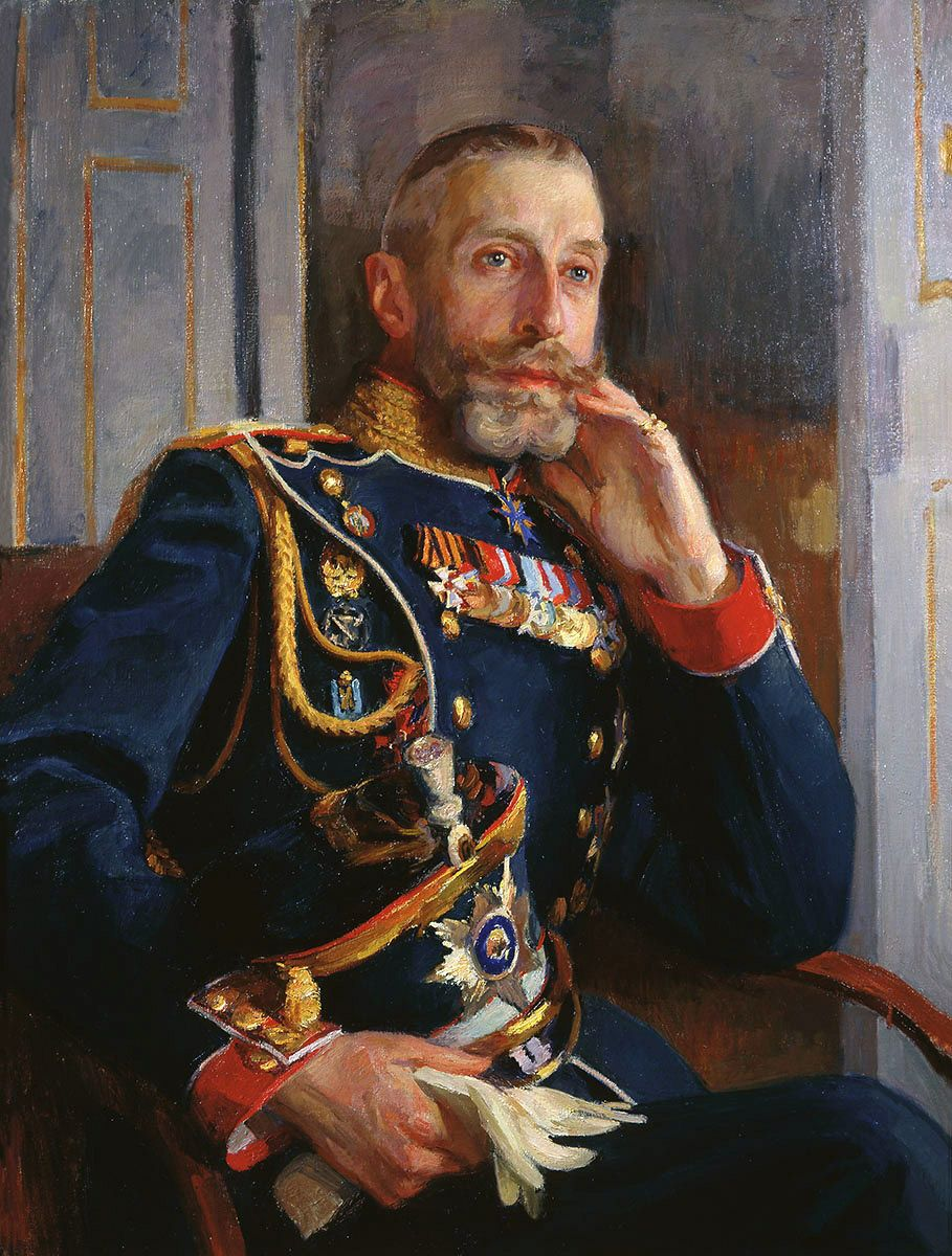Grand Duke Konstantine Konstantinovich of Russia, 1912.